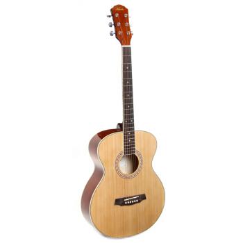 赤绵(Kapok)40寸41寸の赤绵木ギター标准アコスティックギター初心者ギター単板実木教学ギターバッグを支払い云杉40寸の円角LO-18まで郵送します。