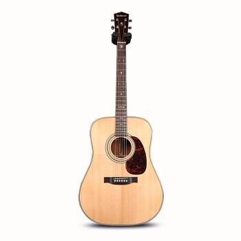 ブリエルギターのシングルボード民謡木ギターGR-1020 GAC面のシングルアコースティックのバッテリーボックスの加振角度41/40インチの男女は10シリーズを適用します。円角原木の色の元の音のタイプ-電気ボックスをくわえません。