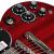 雷鳴風Epiphoneギター/SG G 400/SG 400限定モデル/ProシングルエフェクタSG 400 PROカット可能強化モデル-赤