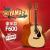ヤマハギター(YAMAHA)楽器学生男子女子学生木吉弾唱入門F 310/F 600レベルアップ原音41インチ初学アコスティックアコード原装輸入F 600-豪華原音項