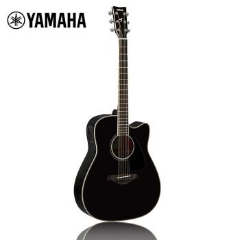 ヤマハ(YAMAHA)FGX 830 CBL黒民謡エレクトリクターの角が欠けています。
